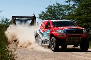 On board: Inside the Frightening  Toyota Hilux Rally Stage