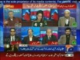 Hassan Nisar Taunt Ayesha Baksh on a Question Regarding Saudia Iran Conflict