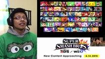 Super Smash Bros 4 Lucas, Roy y Ryu DLC Info NIntendo 6.14.15 Reacción (Reaction)