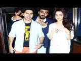 Arjun Kapoor Watches ABCD 2 With Varun Dhawan & Shraddha Kapoor