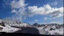 Montagnes d'Akfadou Kabylie sous la neige 2016