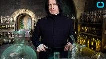 What Did J.K. Rowling Tell Alan Rickman About Severus Snape?