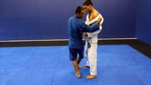 how to do ouchi gari for sambo, bjj and judo.