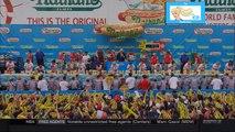 2015 Nathans Hot Dog Eating Contest Sonya Thomas vs. Miki Sudo | LIVE 7 4 15
