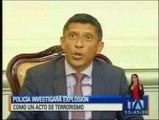 """Guayas: Policía investiga """"acto de terrorismo"""""""