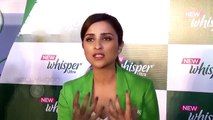 Parineeti Chopra Appeals Men About Periods,Taboos & More - Whisper Ultra Launch