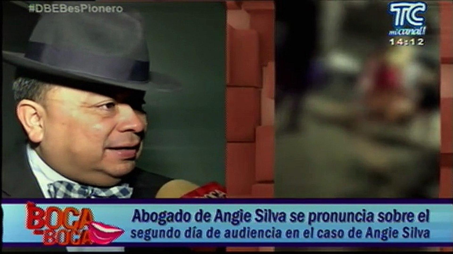 Abogado de Angie Silva se pronuncia sobre el segundo día de audiencia en el caso de Angie Silva