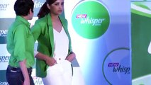 Parineeti Chopra Talks About Her Slim And Prim Avatar At Whisper Ultra Launch