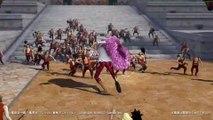 One Piece Pirate Warriors 3 clips ~ Luffy, Trafalgar Law, Doflamingo & Fujitora