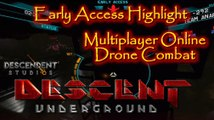 Lets Highlight Descent Underground Early Access Multiplayer Drone Combat