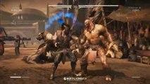 Mortal Kombat X - Goro vs Kung Jin Gameplay