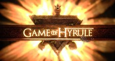 Game of Thrones, Legend of Zelda Intro Teaser - Game of Hyrule Opening