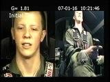 Piloto se desmayó en pleno entrenamiento militar