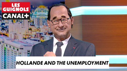 Hollande and the unemployment - The Guignols - CANAL+