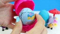 Peppa Pig Play-Doh Surprise Œufs de Peppa Pig Jouets Juguetes de Peppa Pig Huevos Sorpresa de Plastilina