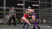WWE 2K16 wonder woman v sindel