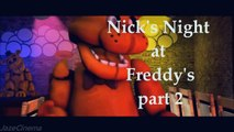 Five Nights at Freddys Animations: Nicks Night at Freddys (All 3 Parts Compilation)