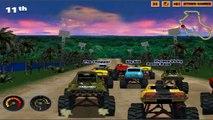 крутые тачки гонки на внедорожниках огромные колеса # 1 игра онлайн