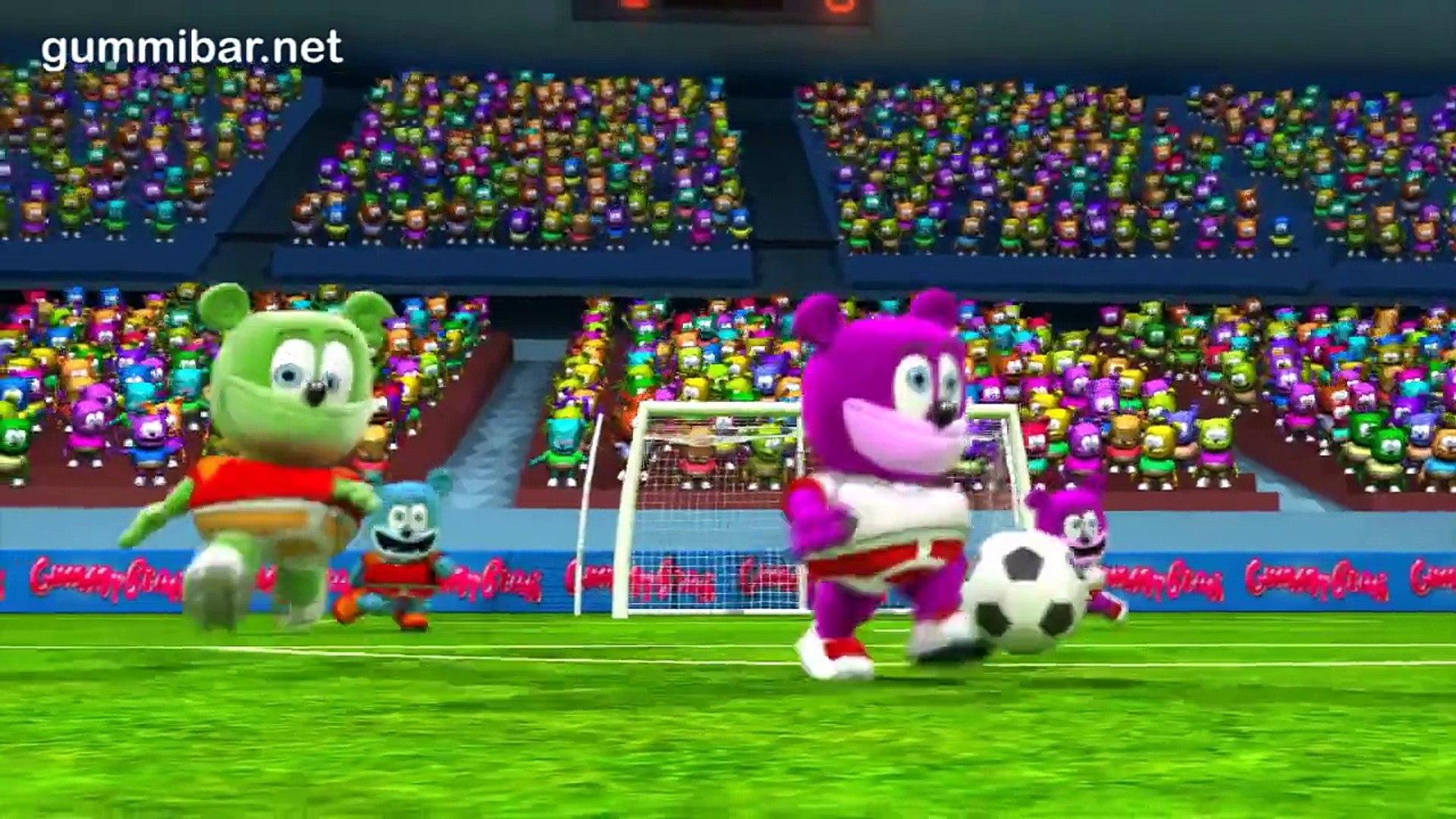 Gummibär Δεν Σταματώ Go For The Goal World Cup Soccer Song Greek Funny Gummy Bear Greece