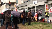 Pôle Emploi en grève pour protester contre le nouvel accueil des chômeurs