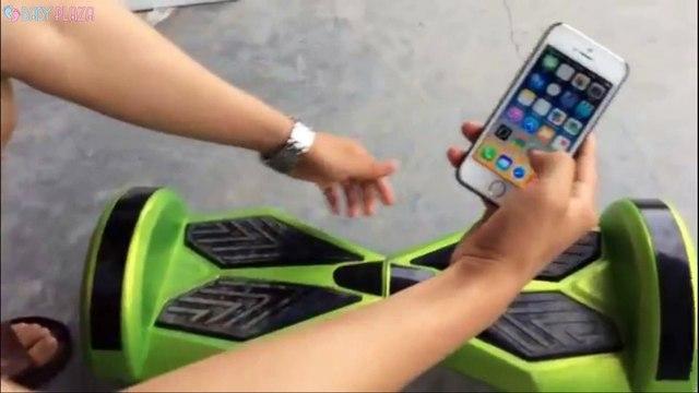 Xe điện 2 bánh cân bằng kết nối điện thoại có Bluetooth
