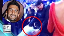 Filmfare Awards 2016: Ranveer Singh Touched Deepika's Dad's Feet