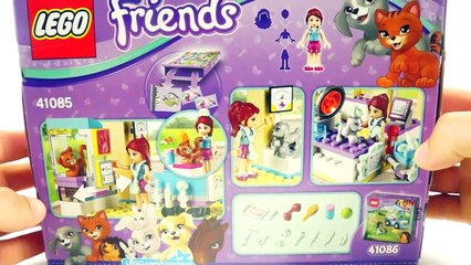 LEGO FRIENDS Vet Clinic Building Toy Set 41085 Lego Unboxing Review by a Disney Collector