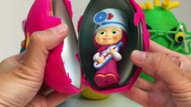 APPRENDRE TAILLES avec Play Doh Surprise Œufs Congelés Peppa Pig Pocoyo Sbires de Jouets Surprises