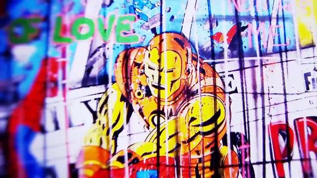 Benjamin Spark - French Street Art & Pop Art Painter