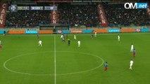 Caen 1-3 OM : le but de GK Nkoudou (60e) par Olympique de Marseille (OM)