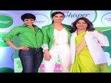 Parineeti Chopra Launches New Whisper Ultra
