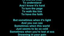 Cinderella – Through The Rain Lyrics