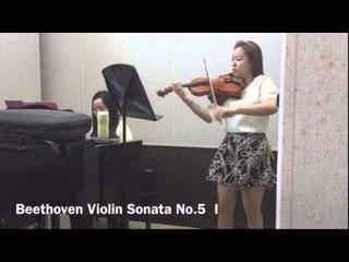 20150322 Beethoven violin sonata No.5 1st Mov. rehearsal(1)