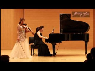 C.Frank violin sonata 4th mov.