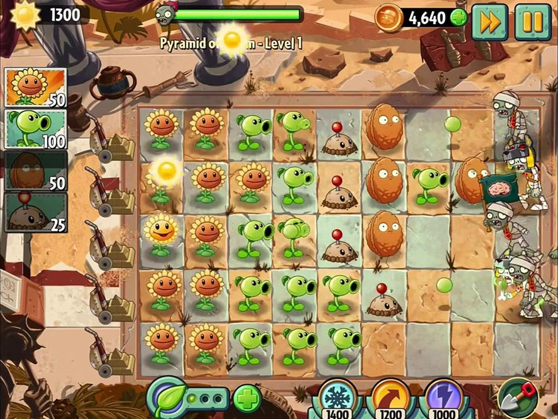 игра мультик приключеник овощи против зомби 2 игра египед часть 4 заключительная # 3