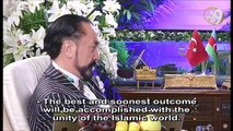 Mr. Adnan Oktar's live conversation with Dr. Kamal Al-Labwani, the Founder of Syrian Liberal Democratic Union on A9 TV (January 7th, 2017)
