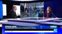 États Unis : Obama s'apprête à prononcer son dernier discours sur lÉtat de lUnion