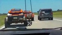 Acidente Team  Robby Gordon Dakar 2016