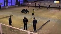 Stanislas Delaye sur le gong, Club Elite Masculin J8, Romans vs Montélimar, Sport-Boules, saison 2015-2016