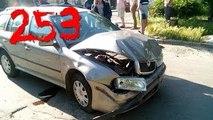 Compilación de Coche de los incidentes y Accidentes en la dashcam #253