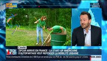 """""""Grâce à son partenariat avec la SNCF, Zipcar est présent dans de nombreuses gares TGV partout en France"""", Etienne Hermite - 18/01"""