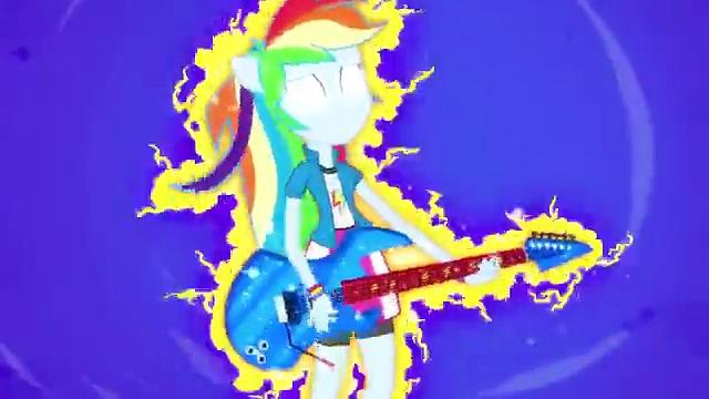 "MLP: Equestria Girls – Rainbow Rocks EXCLUSIVE Short – \""Guitar Centered\"""