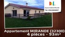A vendre - Maison/villa - MIRANDE (32300) - 4 pièces - 93m²