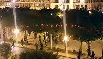 """الآن شعارات ضد الحكومة على خلفية أحداث القصرين..امام وزارة الداخلية """"يا حكومة عار عار و القصرين شعلت نار"""""""