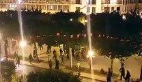 عاجل الآن شعارات ضد الحكومة في شارع الحبيب بورقيبة على خلفية أحداث القصرين.