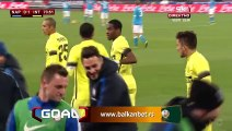 0-1 Stevan Jovetiu0107 Goal 3.SSC Napoli 0-0 Inter Milano- 19.01.2016, SSC Napoli 0-1 Inter Milano
