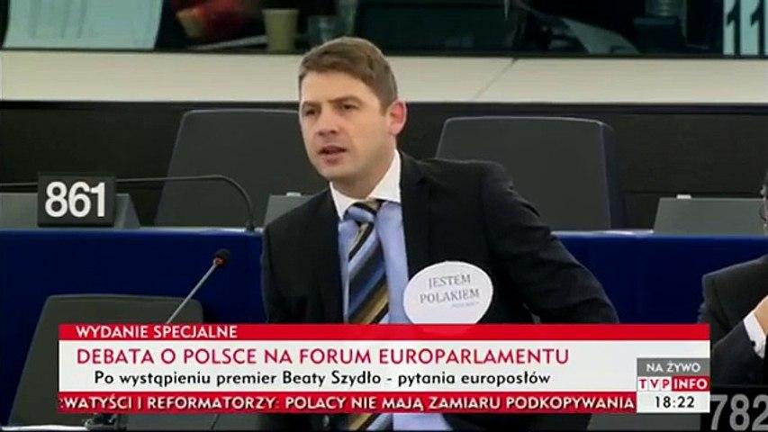 Ja jestem Polakiem 19.01.2016 Petr Mach w Parlamencie Europejskim
