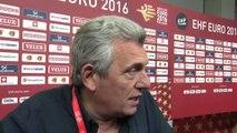 Hand - Euro (H) - France-Macédoine : Claude Onesta «Un match raté»