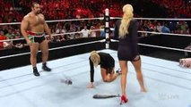WWE Lana Attacks Summer Rae Again to Fish (Lanas New Submission)