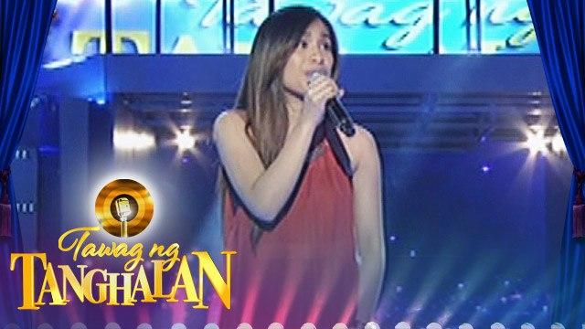 """Tawag ng Tanghalan: Samantha Abadilla - """"Rather Be"""""""